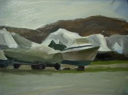 Dry Docked Boats, 16x20