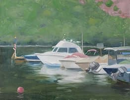 Cold Spring Harbor, 14x18