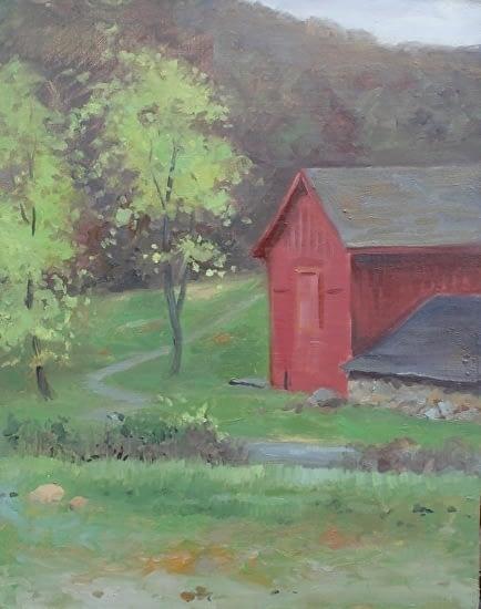 Barn, Osborn Preserve, 18x14