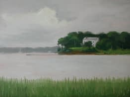Three Mile Harbor at East Hampton, 11x14