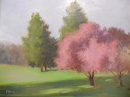 Spring in Ringwood, 14x18