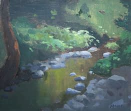 Creek at Canopus Hollow, 11x14