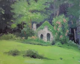 """Grotto on """"A"""" Trail, 8x10"""