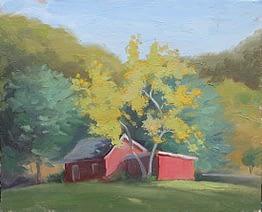 Barn near Canopus Hollow, 8x10