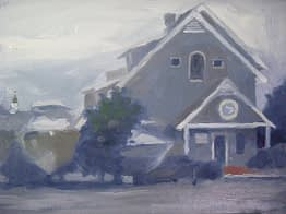 Osterville Yacht Club, 12x16