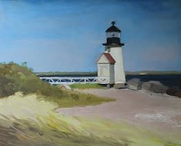 Lighthouse, Nantucket, 16x20