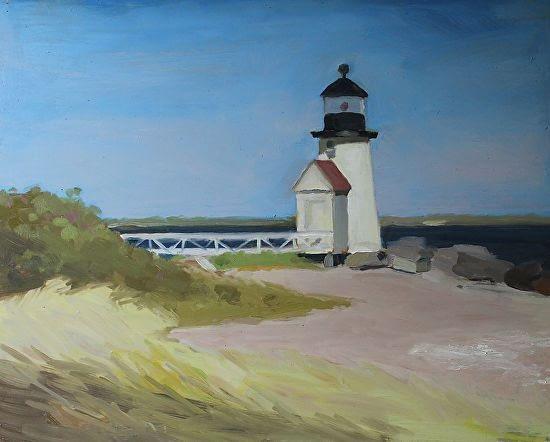 Lighthouse, Nantucket, 16x20