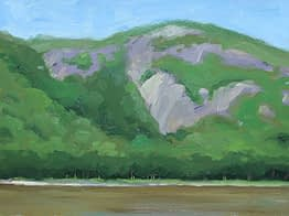 Mountain at Cold Spring, 12x16