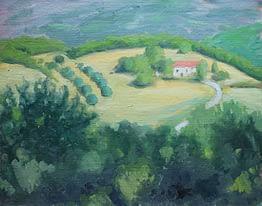 Tuscan Farm, 16x20