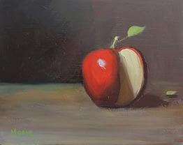 Apple and Leaf, 8x10