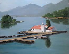 Mouse Island, Corfu, 20x24