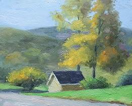 Autumn in Ringwood, 10x8