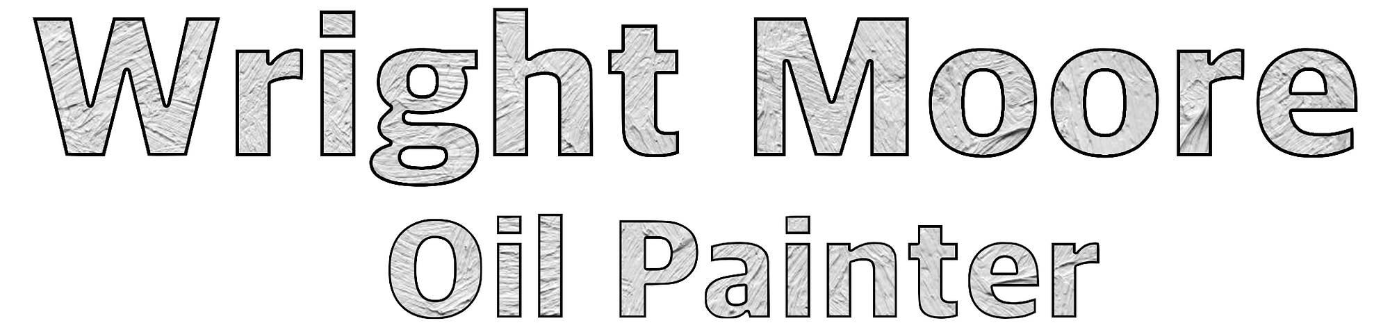 Wright Moore - Oil Painter | this is the logo for Wrightmoore.com